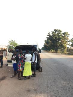 Breakdown Bo to Freetown